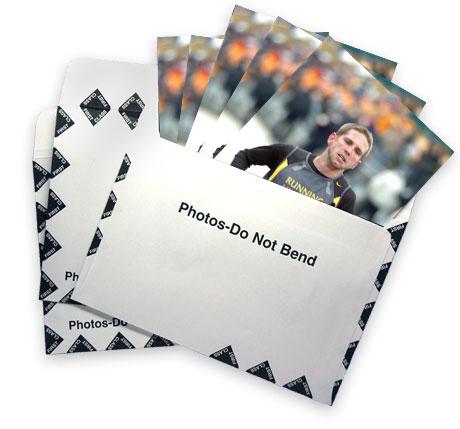 Photos in an envelope
