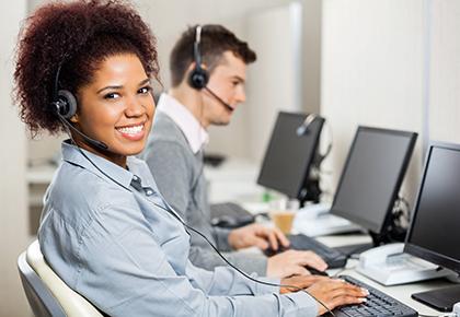 A Customer Service Operator